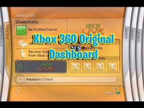 The original Xbox360 dashboard was so smooth and simplistic