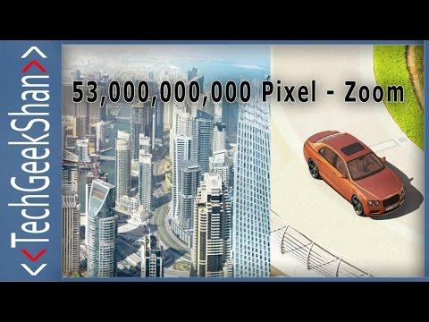 Bentley Car 53 Billion Pixel Zoom Experience