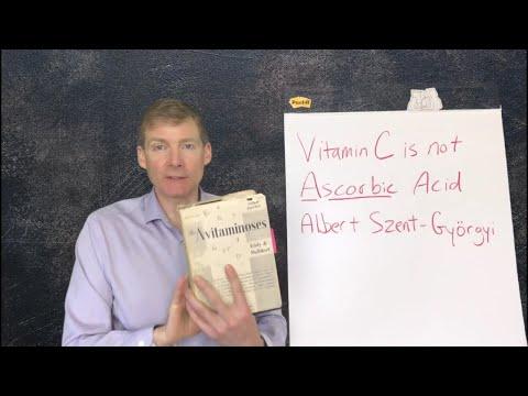 Ascorbic Acid is not Vitamin C