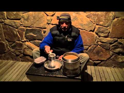 How to make coffee on a Trangia stove