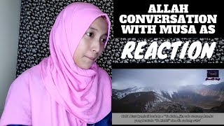 Allah conversation with Musa as - Reaction Video