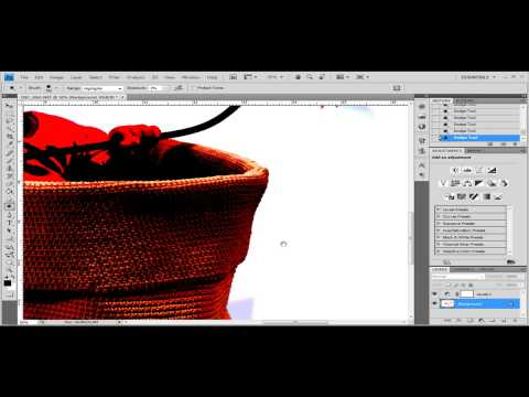 Removing shadows in photoshop