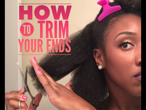 Natural Hair 101: How to Trim Your Ends