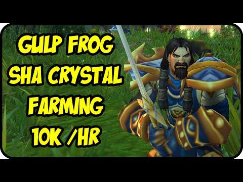 WoW Gold Farming Patch 7.0.3: Gulp Frog Gold Making - Sha Crystal Enchanting - Legion Gold Guide