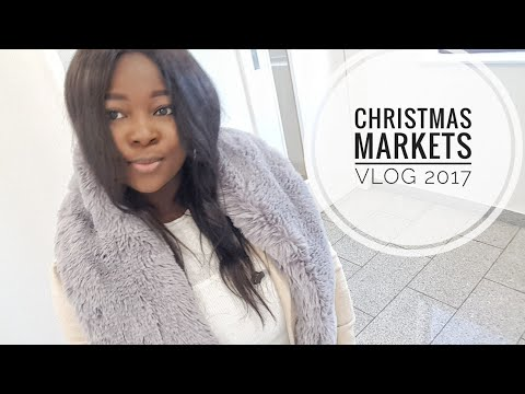 Manchester Christmas markets | Food VLOG