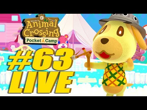 More New Stuff! Animal Crossing: Pocket Camp Live Stream