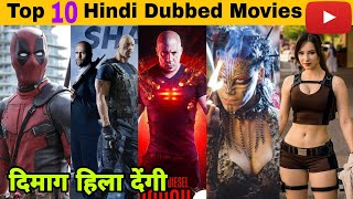 Top 10: Hollywood movies in hindi dubbed | Available on YouTube | Oye Filmy