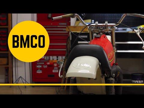 Montesa Cappra Dirt Track Conversion - episode 1