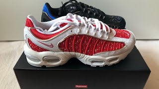 bef139c2f5 (UNBOXING) Nike X Supreme Air Max Tailwind IV SS19
