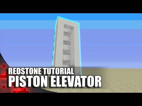 Minecraft: Simple Piston Elevator