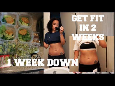 GET FIT IN 2 WEEKS| WEEK 1 RESULTS