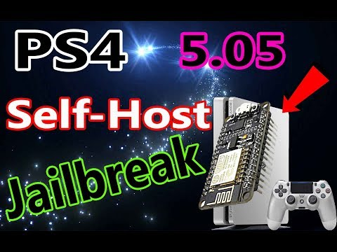 How to Host PS4 Jailbreak Offline With ESP8266 ESP-12E for Firmware 5.05