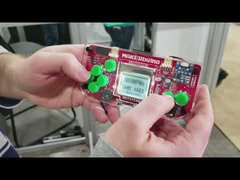 Build Your Own Handheld Game Console With Makerbuino