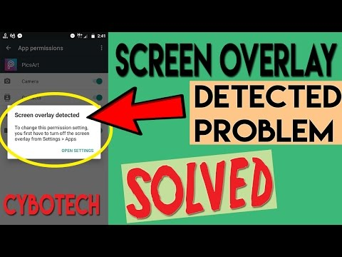 How To Turn Off Screen Overlay Detected 100% Solved | Any Android Marshmallow