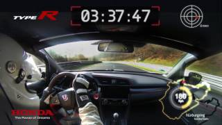 """The 2017 Civic Type R – """"Hot Lap"""""""