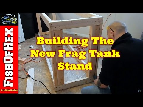 Building The Stand | 200 Gallon Frag Tank Build Part 1