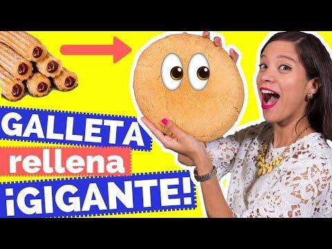 GALLETA GIGANTE SABOR A CHURRO - La Cooquette