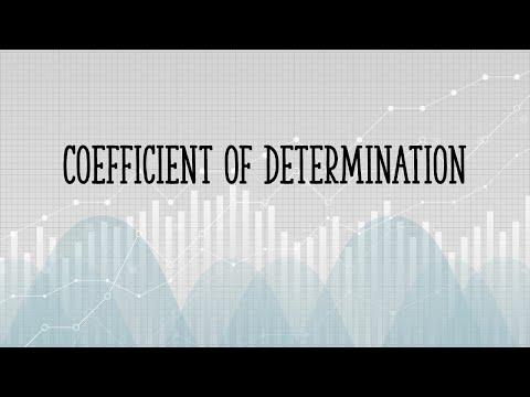 Coefficient of Determination: Find and Define