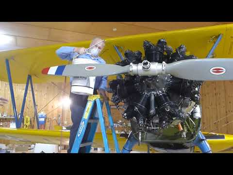 ECO SS Cleaning Airplane Engine
