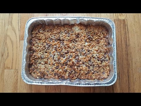Easy Holiday Dessert! (Seven Layer Bars)