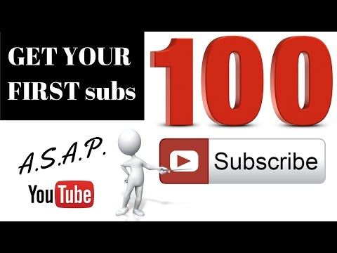 How to Get Your First 100 Subscribers in 2017 in less than a month ASAP
