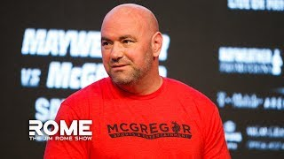 Dana White Talks Conor McGregor Punching Old Man, UFC 241, And More | The Jim Rome Show