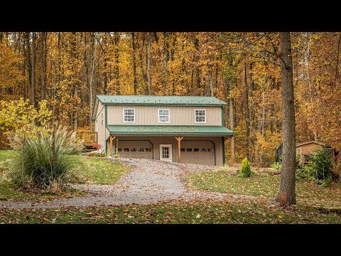 When a Former Builder Builds a 2-story Garage in the Woods... A.B. Martin Showcase