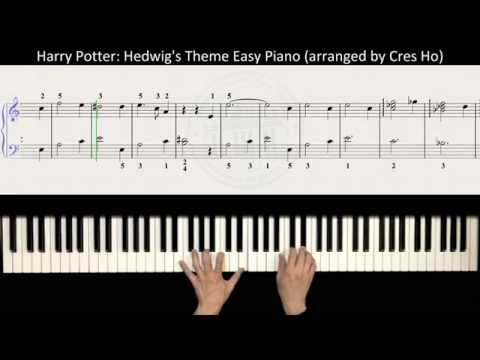 Harry Potter (Main Theme): Hedwig's Theme Easy Piano