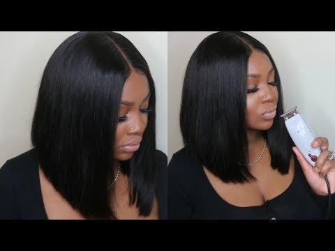 PERFECT BOB HAIR CUT TUTORIAL | WEST KISS