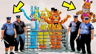 Animatronics Granny Pode Salvar Os Nightmares Dos Super Herois - 5 animatronics secretos escondidos no roblox circus baby s pizza