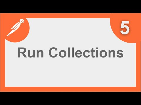 POSTMAN BEGINNER TUTORIAL 5 💡 How to run COLLECTIONS (Collection Runner)