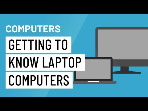 Computer Basics: Getting to Know Laptop Computers