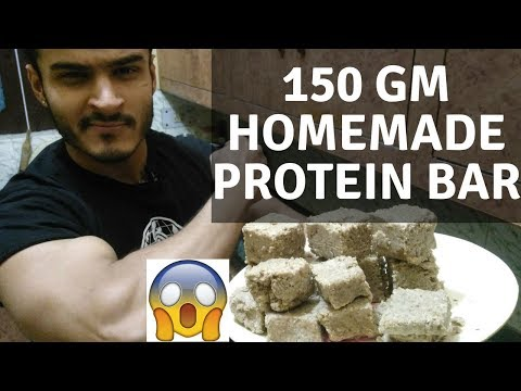 150 gm Homemade protein bar for Mass Gain | without protein powder