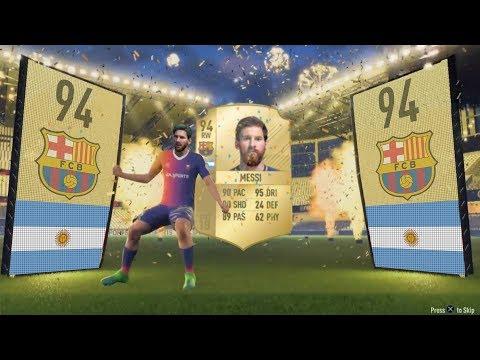 FIFA 09 - FIFA 18 PACK OPENING ANIMATION (FUT HISTORY)