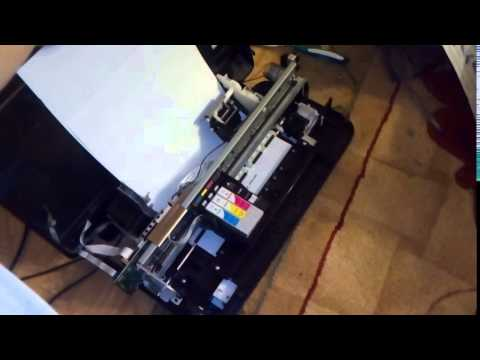 EPSON STYLUS NX125 NX130 SX125 SX130 T13 ME10 print without case after repair