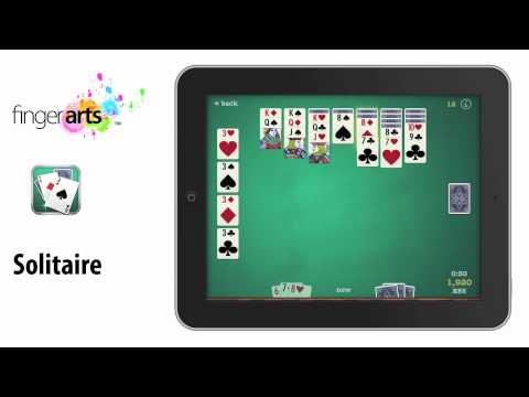 Solitaire Video for iPhone, iPad and iPod Touch by Finger Arts (Free)