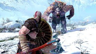 God Of War 4 15 Minutes Of Gameplay Demo Ps4 2018