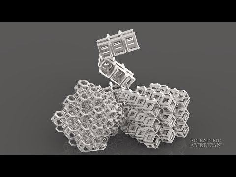 Origami Lattice Folds between Dimensions