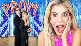 Surprising My Cousin Maddie and Her Crush with Dream Prom inside our House! Rebecca Zamolo