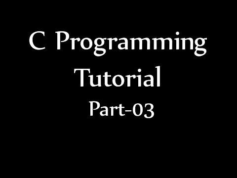 C Programming Tutorial 03 | Division Quotient & Remainder | বাংলা সি প্রোগ্রামিং পর্ব ০৩