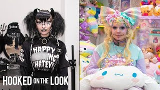 The Goth Who Lives With A Lolita Doll | HOOKED ON THE LOOK