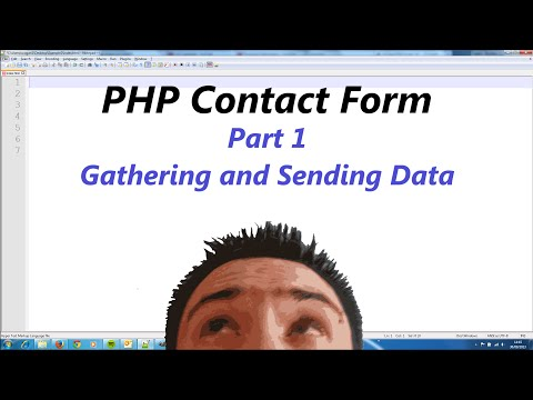 Simple PHP Contact Form Part 1