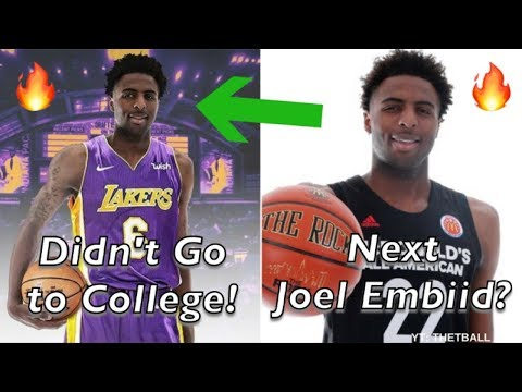 Meet the Biggest Mystery in the 2018 NBA Draft | Ditched College... Drafted By Los Angeles Lakers?