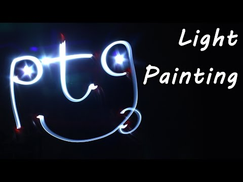 Light Painting Tutorial - Photography Tips - Light Drawing