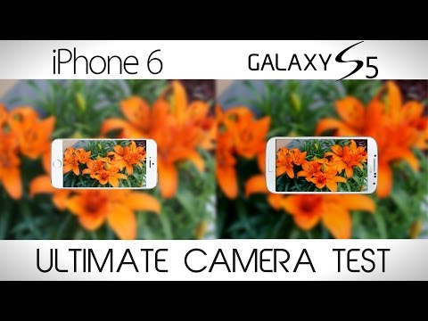 iPhone 6 vs Galaxy S5 - Ultimate Camera Comparison Test