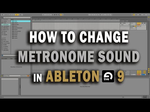 How To Change Metronome in Ableton Live 9 Tutorial + Free MPC Metronome Sound Download