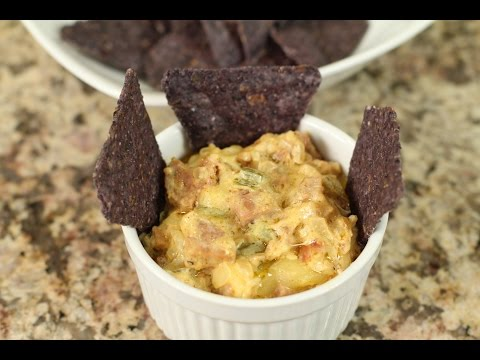 Southwest White Cheese Dip With Cajan Sausage by Rockin Robin
