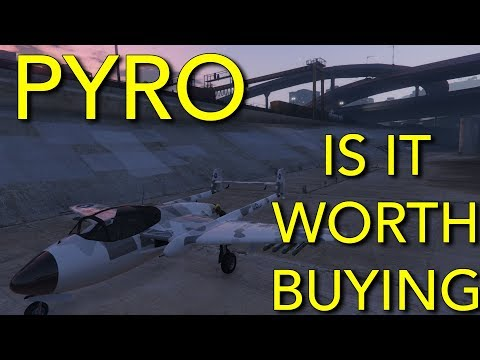 NEW PLANE : PYRO IS IT WORTH BUYING ? GTA5