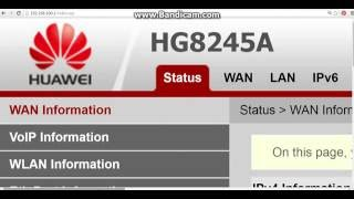 How to change telecomadmin password on Huawei ONT