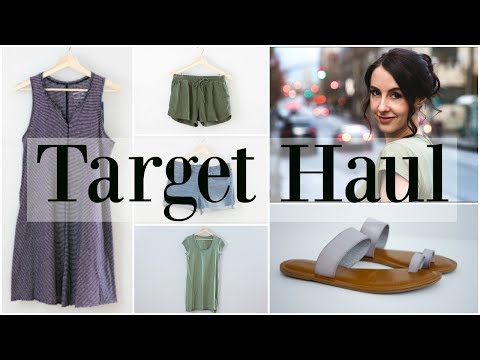 Spring Target Haul for Mama - Spring Fashion 2018